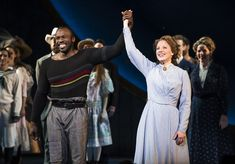 The revival of the Rodgers and Hammerstein classic, which stars Jessie Mueller and Joshua Henry, opened at the Imperial Theatre on Thursday night. Imperial Theatre, Carousel Musical, Jessie Mueller, Nights On Broadway, Walking Alone, Opening Night, Phantom Of The Opera, Musical Theatre, Disney Movies