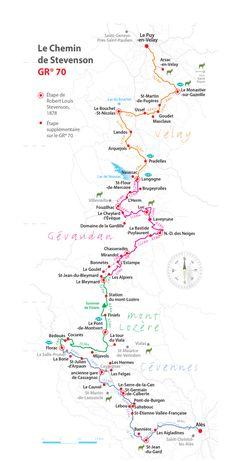 Le chemin de Stevenson Trekking, Release Stress, List, How To Plan, Sport, Travelling, St Jacques, Languedoc Roussillon, Alsace
