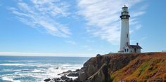 This picturesque lighthouse has been a shining beacon along the central California coastline since 1872.