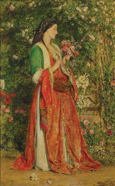 The Bouquet ; John Frederick Lewis; 1857; 2-1946 - Dunedin Public Art Gallery on NZMuseums