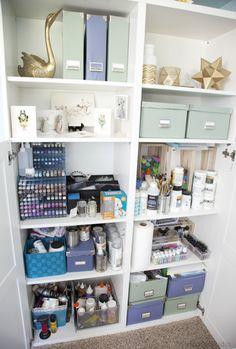 Goodey Studio Book Shelf Organization