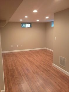Bright and airy basement bedroom IncomeProperty HGTV Bedroom