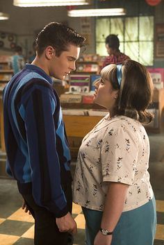 Link & Tracy - Hairspray. I'm sorry but I just thought this love story was so cute!
