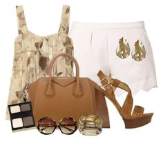 """""""outfit"""" by mkomorowski ❤ liked on Polyvore featuring Little White Lies, Marni, Givenchy, Kevyn Aucoin, Bing Bang, Rachel Zoe and Wallis"""