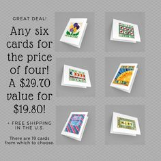 Sale On, Great Deals, Note Cards, This Is Us, My Etsy Shop, Quilts, Free Shipping, Words, Big
