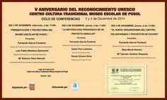 Folleto informativo sobre la jornada dedicada al aniversario http://www.museopusol.com/es/noticias/?id=97&cat=9&dat=12%202014