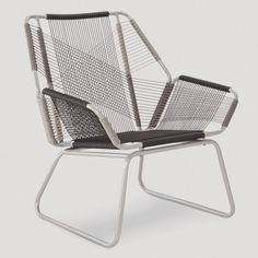 Carag 3pc Sling Rope Patio Chat Set - Gray - Project 62™ : Target