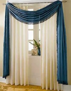 25 Ideas living room curtains ideas with blinds valances 25 Ideen Wohnzimmer Vorhänge Ideen mit Jalousien Volants This image. Living Room Decor Curtains, Home Curtains, Living Room Windows, Curtains With Blinds, Window Curtains, Livingroom Curtain Ideas, Scarf Curtains, Valances, Curtain Styles