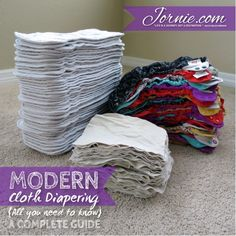 Modern Cloth Diapering {all you need to know} ~ a Complete Guide | Jornie.com ~ GREAT resource for anyone who is considering cloth diapering, and extra tips for those who already cloth diaper! **PIN TO SAVE FOR LATER**