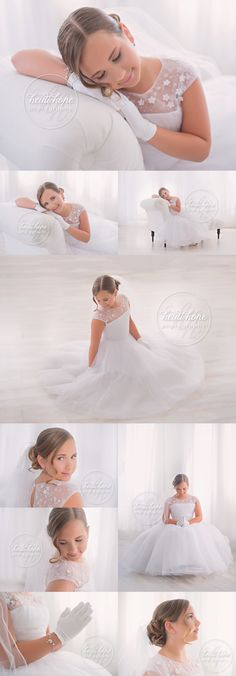 E's First Communion Portraits | Heidi Hope Photography