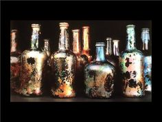"""Bottles from the H.M.S. """"Betsy"""" Scuttled during the Siege of Yorktown, Virginia 1781."""