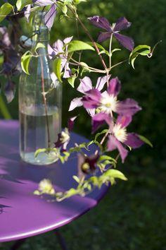 #Fermob violet #Aubergine