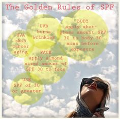 everything you really need to know about SPF - no fluff, just facts :-)