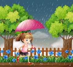 Tinkerbell, Disney Characters, Fictional Characters, Disney Princess, Running In The Rain, Vector Art, Girls Girls Girls, Tinker Bell, Fantasy Characters