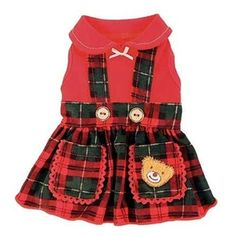 Ruff Ruff Couture Lil' Teddy Dog Dress at W. Field's Dog Boutique