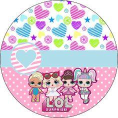 Fiestas Personalizadas Imprimibles: Topper LOL para imprimir Gratis Birthday Party Games For Kids, Birthday Parties, Lol Doll Cake, Instagram Frame, Doll Party, Lol Dolls, Girl Birthday, Hello Kitty, Kids Rugs