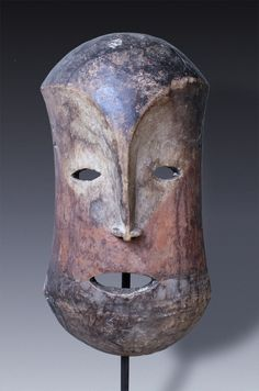 Initiation-mask, estimated from the Ngbandi People, Congo