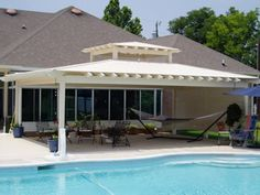 Future Outdoors builds Vinyl or Wood Cabana's. We have expert carpenters that really know how to make your structure look beautiful and sturdy. Call Future Outdoors for a free estimate. 972-576-1600. Dallas, Ft.Worth, Midlothian