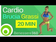 Allenamento cardio brucia grassi: 20 minuti di esercizi per dimagrire a casa - YouTube