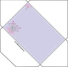 Pink Floral Envelope Invitations