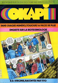 Magazine Okapi (Bayard) (N° 262, 1982)