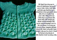 anlatımlı örgü,knit baby vest