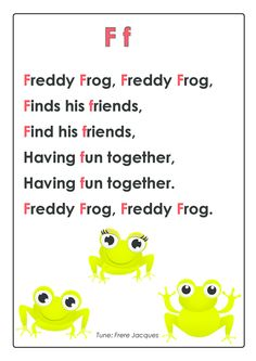 ABC Songs – Letter F #Pre-K #Early #Learning #Reading #Skills #Rhyming