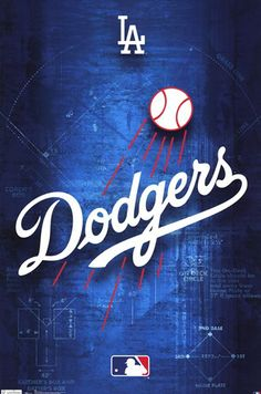 - Dodgers - Logo 11 - art prints and posters