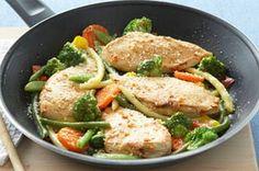 Chicken & Veggie Skillet (7 Points+) | Weight Watchers Recipes