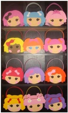 lalaloopsy Party Favor bags for sale: i think they are totally makeable with felt instead of foam