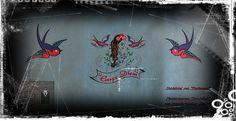 """Flaschentäschchen - #Dampfer Tasche """"Dampfer-BIG"""",#E-Zigaretten Tasche - ein Designerstück von Dampfer-Taschen-Joclame bei DaWanda"""