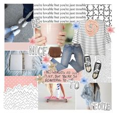 """""""You're lovable but you're just trouble"""" by xo-sunkissed ❤ liked on Polyvore"""