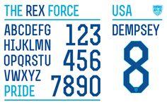 NikeがFifaワールドカップ用に製作したオリジナルフォント