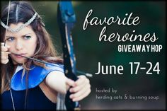 Favorite Heroine Giveaway Hop: EVERYWOMAN: Rachel Morgan  http://fangswandsandfairydust.com/2015/06/heroine-hop.html  June 17th-24th we're sharing our favorite kickass heroines! Come meet these awesome ladies and find out why they're the best of the best. Be sure to stop by each blog. There's a giveaway at every stop!
