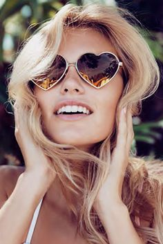"Heart-Shaped ""Lolita"" Sunglasses 