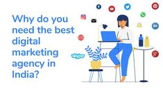 Now, Marketing has gone completely crazy. Thanks for the growing digital marketing in India. TV ads and print ads play a secondary role in marketing, while websites, social media, and online advertising are driving marketing in unprecedented ways.