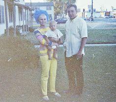 Linda, Troy & Ray Villanes Long Beach Visit Seattle, WA 1968