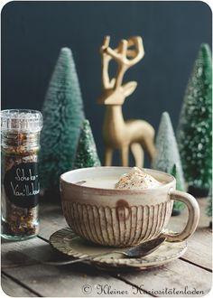 Schoko-Vanillezucker mit Orange Dessert, V60 Coffee, Diy Kitchen, Dips, Coffee Maker, Kitchen Appliances, Sweets, Tableware, Christmas
