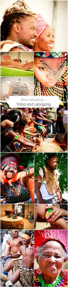 {Real Wedding} Yolisa and Lebogang (Part two) www.nubianbride.co.za African Traditional Wear, South African Weddings, Real Weddings, Wedding Inspiration, Culture, Color, Colour, Colors