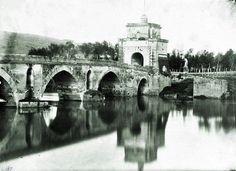 Ponte Milvio (G.E. Chauffourier, 1871) E dietro il nulla... ;)