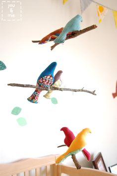 free bird softie pattern here