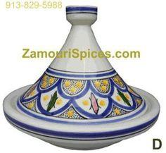 Tagine Serving Safi Blue Med 25cm