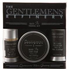 The Gentlemens Refinery Travel Trilogy (Black Ice) $45.00