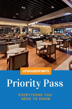 What is Priority Pass and how do I get one? What is Priority Pass Select? Where can I find a lounge? This in-depth article answers all your questions.