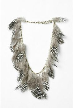 ☮ American Hippie Bohemian Style ~ Boho Jewelry .. Feather Necklace!