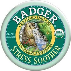 Badger Balm Tension/Stress Soother for my bridesmaids