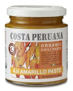 aji amarillo paste.  a must-have for making aji de gallina.