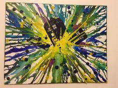 Exploding tardis dr who themed melted crayon art Crayon Crafts, Canvas Crafts, Crayola Art, Doctor Who Art, Melting Crayons, Pottery Painting, Art Photography, Photography Lighting, Crafts To Do
