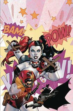 Harley Quinn controla Robin e Batman como marionetes