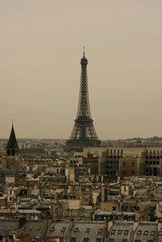 Eiffel Tower, Paris // Angela and Matt's Paris trip.
